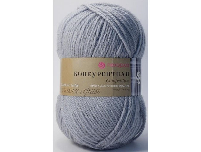 Pekhorka Competitive, 50% Wool, 50% Acrylic 10 Skein Value Pack, 1000g фото 12