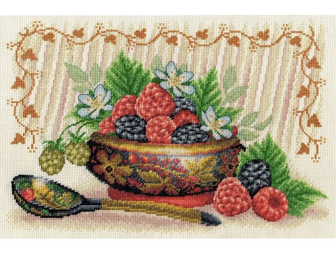 Garden Berries Cross Stitch Kit фото 1