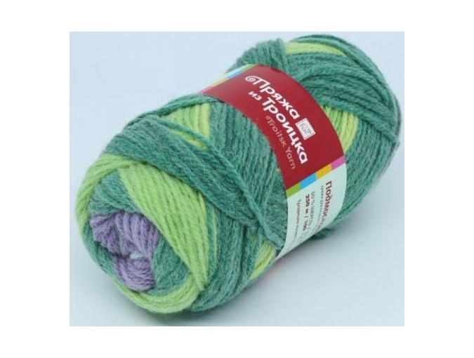 Troitsk Wool Countryside Print, 50% wool, 50% acrylic 10 Skein Value Pack, 1000g фото 67
