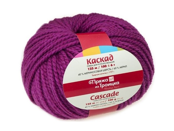 Troitsk Wool Cascade, 40% wool, 60% acrylic 10 Skein Value Pack, 1000g фото 17