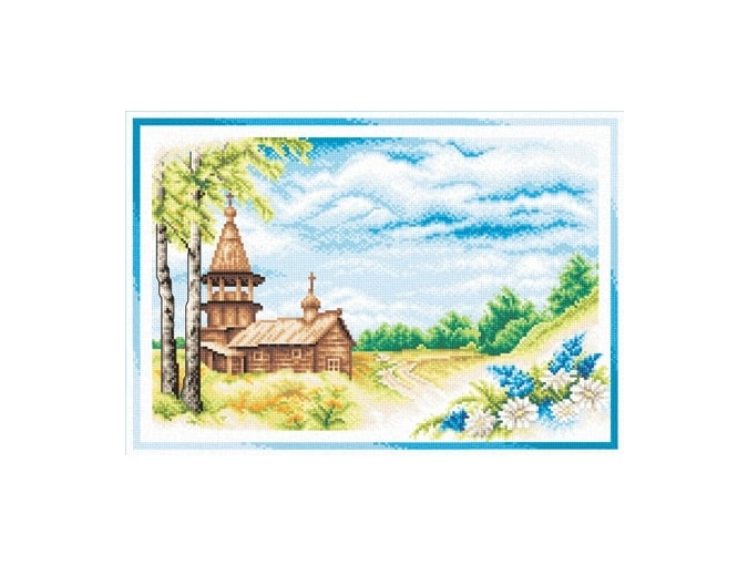 Sunny Summer Day Cross Stitch Kit фото 1