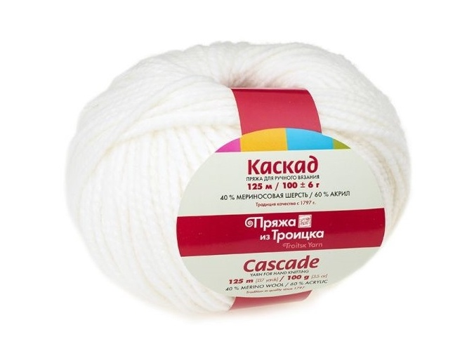 Troitsk Wool Cascade, 40% wool, 60% acrylic 10 Skein Value Pack, 1000g фото 8