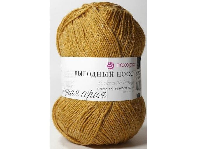 Pekhorka Socks with benefits, 40% Wool, 60% Acrylic 5 Skein Value Pack, 500g фото 21
