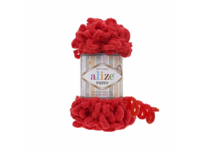 Alize Puffy, 100% Micropolyester 5 Skein Value Pack, 500g фото 13