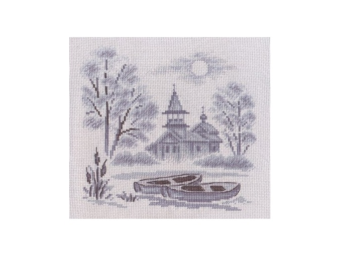 A Mist over the River Cross Stitch Kit фото 1