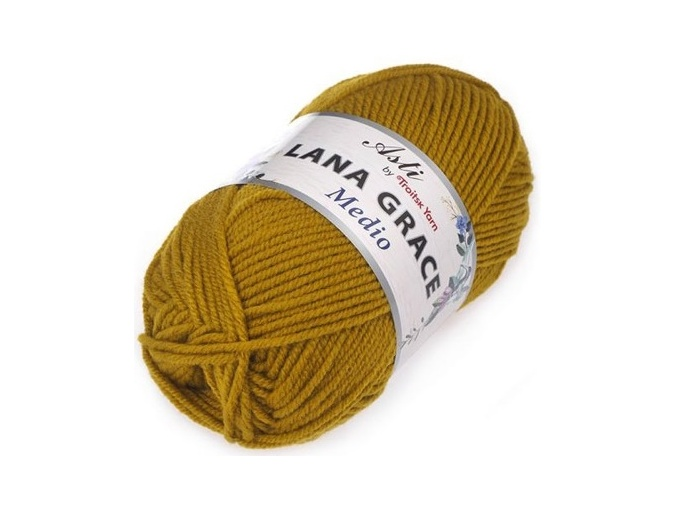 Troitsk Wool Lana Grace Medio, 25% Merino wool, 75% Super soft acrylic 5 Skein Value Pack, 500g фото 5