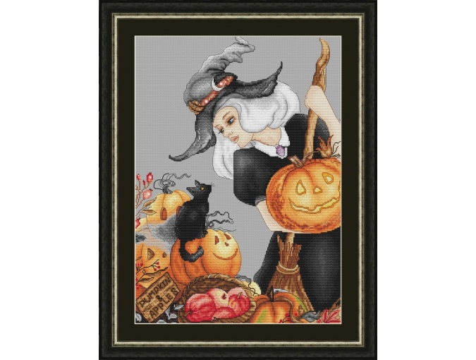 Beauty Witch Cross Stitch Pattern фото 1