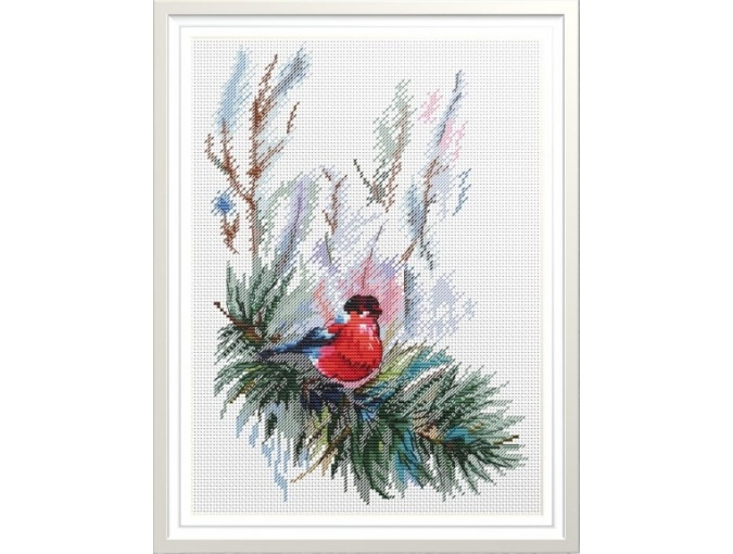 A Bullfinch Cross Stitch Pattern фото 1