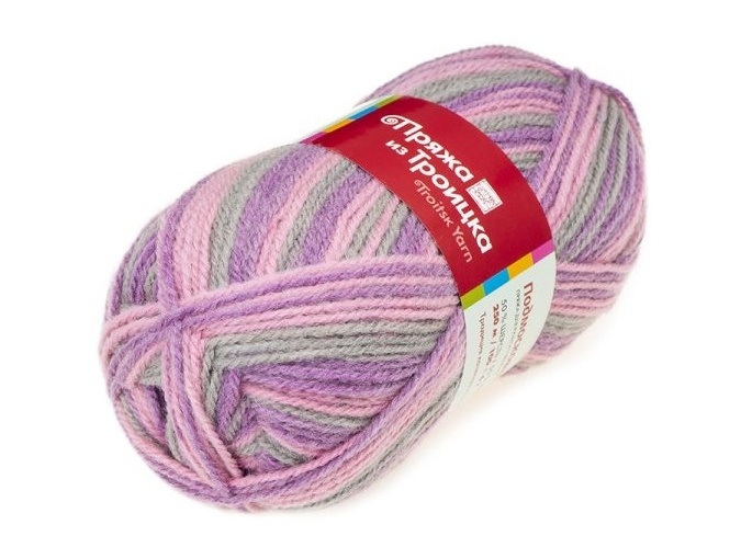 Troitsk Wool Countryside Print, 50% wool, 50% acrylic 10 Skein Value Pack, 1000g фото 51