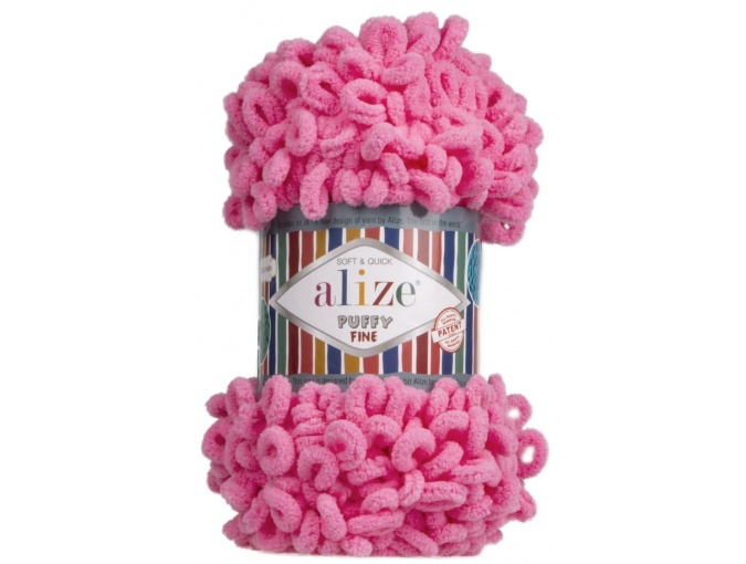 Alize Puffy Fine, 100% Micropolyester 5 Skein Value Pack, 500g фото 13