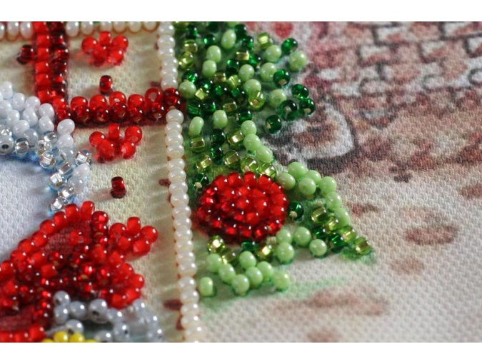 Under the Christmas Tree Bead Embroidery Kit фото 5