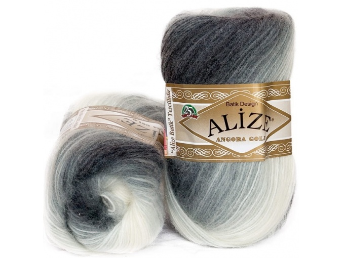 Alize Angora Gold Batik, 10% mohair, 10% wool, 80% acrylic 5 Skein Value Pack, 500g фото 8