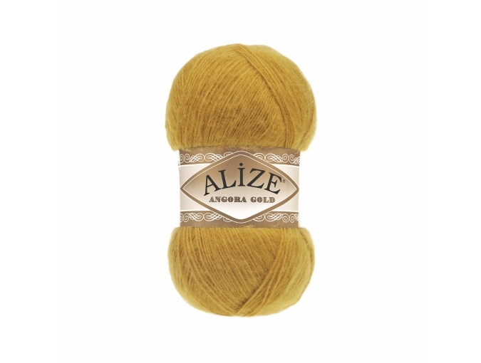 Alize Angora Gold, 10% Mohair, 10% Wool, 80% Acrylic 5 Skein Value Pack, 500g фото 3