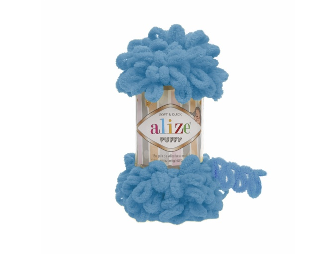 Alize Puffy, 100% Micropolyester 5 Skein Value Pack, 500g фото 5