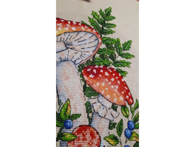 Fly-agarics Cross Stitch Pattern фото 3