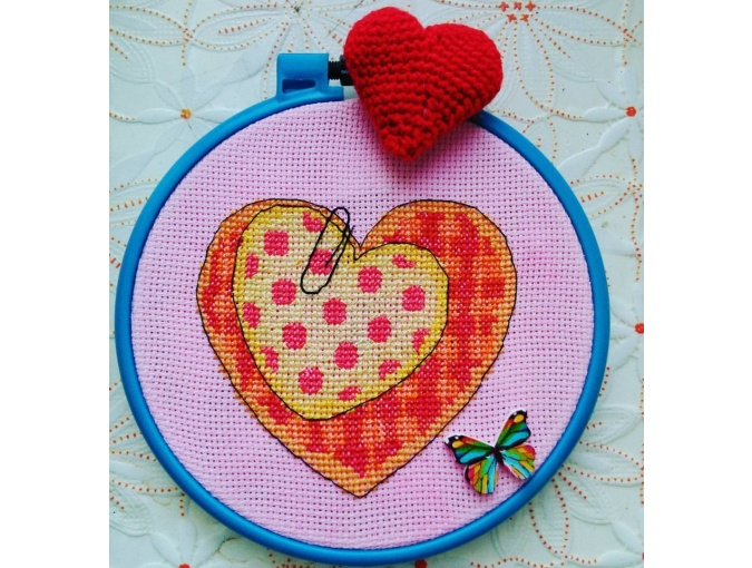 Valentine Сard Cross Stitch Pattern фото 2