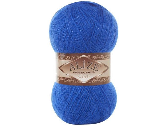 Alize Angora Gold Simli, 5% Lurex, 10% Mohair, 10% Wool, 75% Acrylic, 5 Skein Value Pack, 500g фото 22