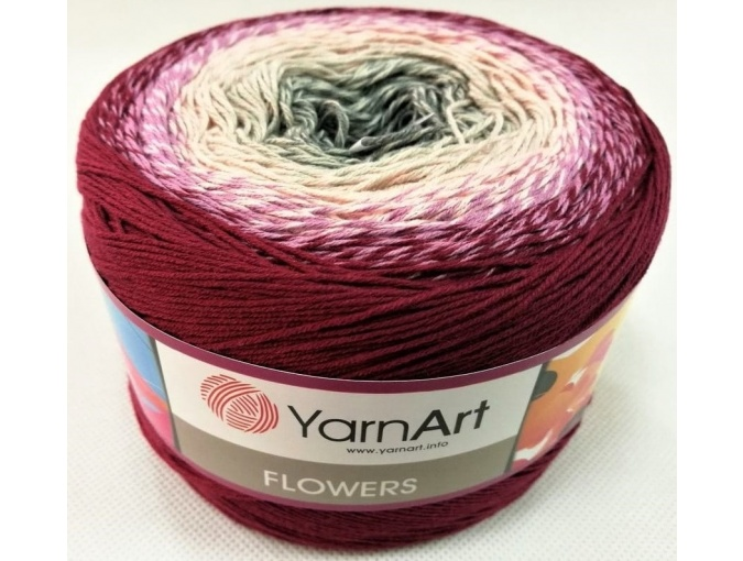 YarnArt Flowers, 55% Cotton, 45% Acrylic, 2 Skein Value Pack, 500g фото 68