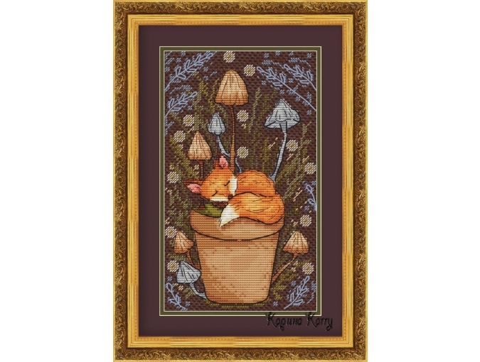 Forest Dreams Cross Stitch Chart фото 1