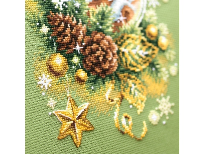 Light Christmas Cross Stitch Kit фото 5