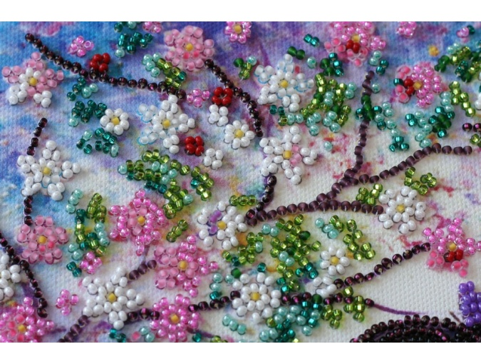 Spring Guest Bead Embroidery Kit фото 2
