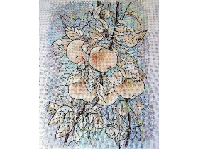 Apples Cross Stitch Pattern фото 2
