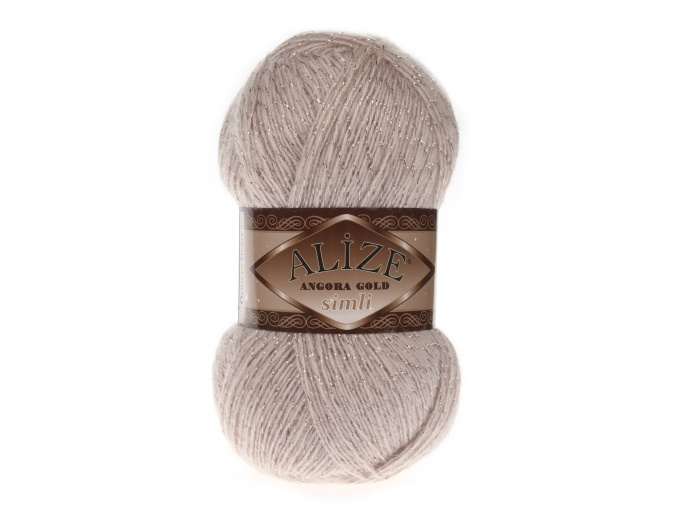 Alize Angora Gold Simli, 5% Lurex, 10% Mohair, 10% Wool, 75% Acrylic, 5 Skein Value Pack, 500g фото 44