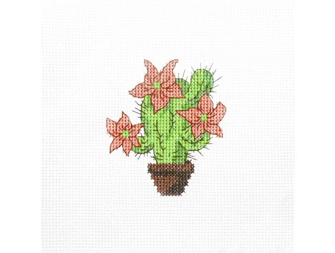 Prickly Smoothie Cross Stitch Kit фото 1