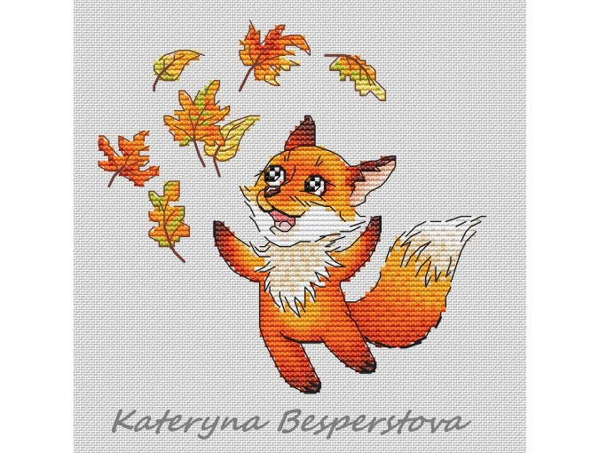 Fly, Redheads! Cross Stitch Pattern фото 1