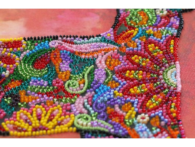 Walking in the Sunset Bead Embroidery Kit фото 5