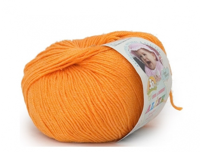 Alize Baby Wool, 40% wool, 20% bamboo, 40% acrylic 10 Skein Value Pack, 500g фото 1