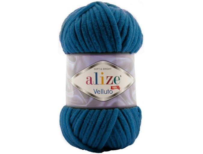 Alize Velluto, 100% Micropolyester 5 Skein Value Pack, 500g фото 24