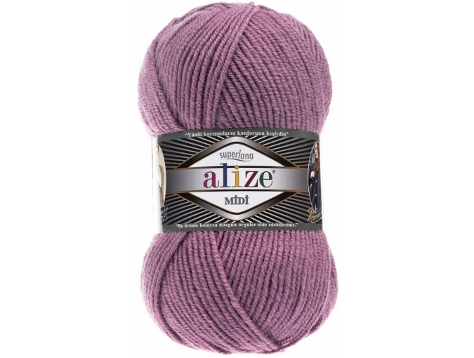 Alize Superlana Midi 25% Wool, 75% Acrylic, 5 Skein Value Pack, 500g фото 6