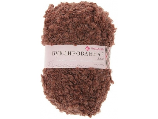 Pekhorka Boucle, 30% Mohair, 20% Wool, 50% Acrylic, 5 Skein Value Pack, 1000g фото 16