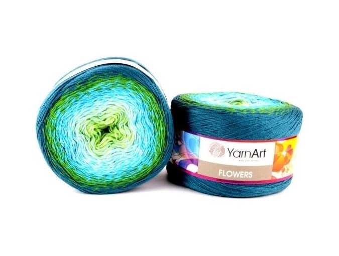 YarnArt Flowers, 55% Cotton, 45% Acrylic, 2 Skein Value Pack, 500g фото 15
