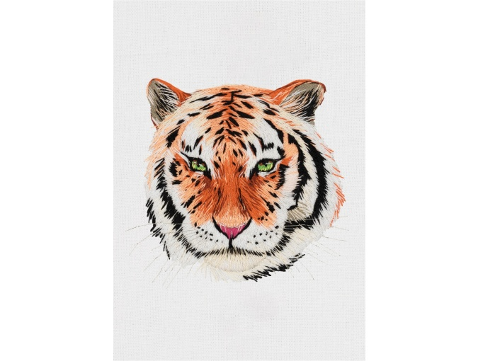 Tiger Embroidery Kit фото 1