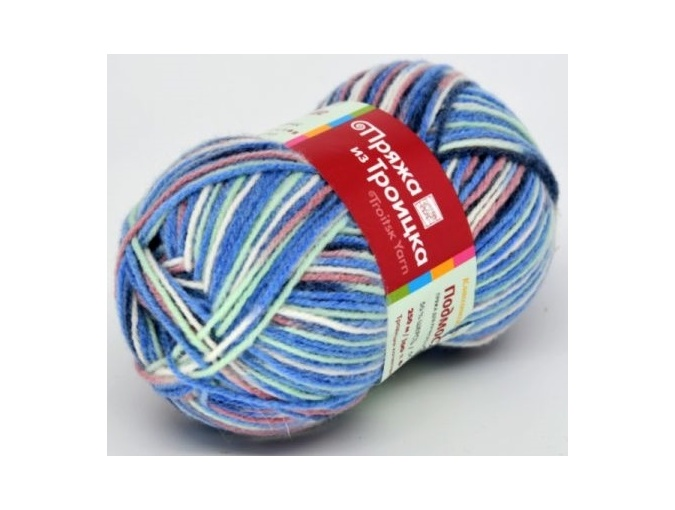 Troitsk Wool Countryside Print, 50% wool, 50% acrylic 10 Skein Value Pack, 1000g фото 36