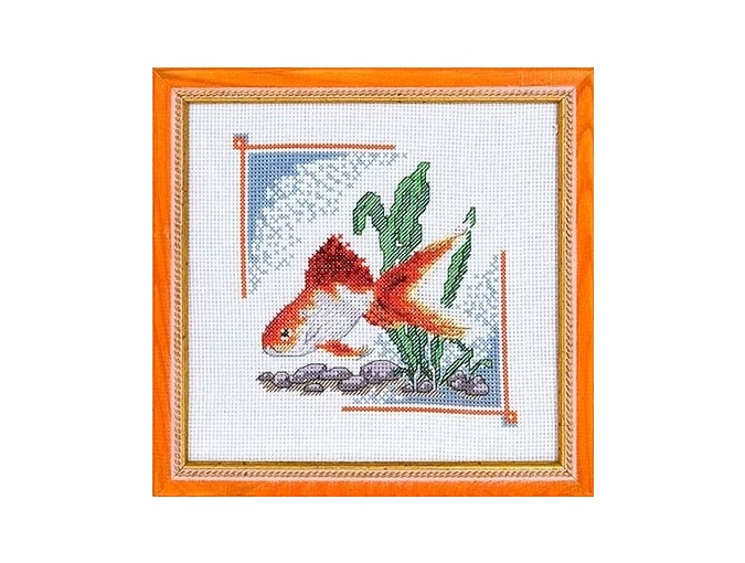Goldfish Cross Stitch Kit фото 1