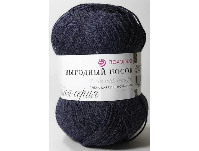 Pekhorka Socks with benefits, 40% Wool, 60% Acrylic 5 Skein Value Pack, 500g фото 4
