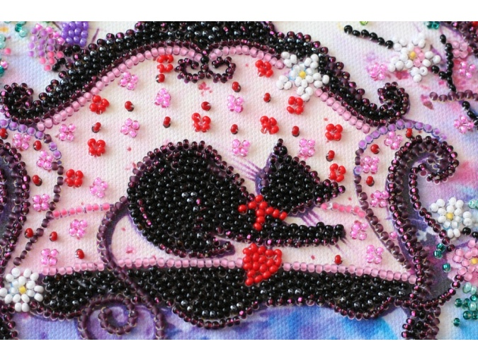 Spring Guest Bead Embroidery Kit фото 4