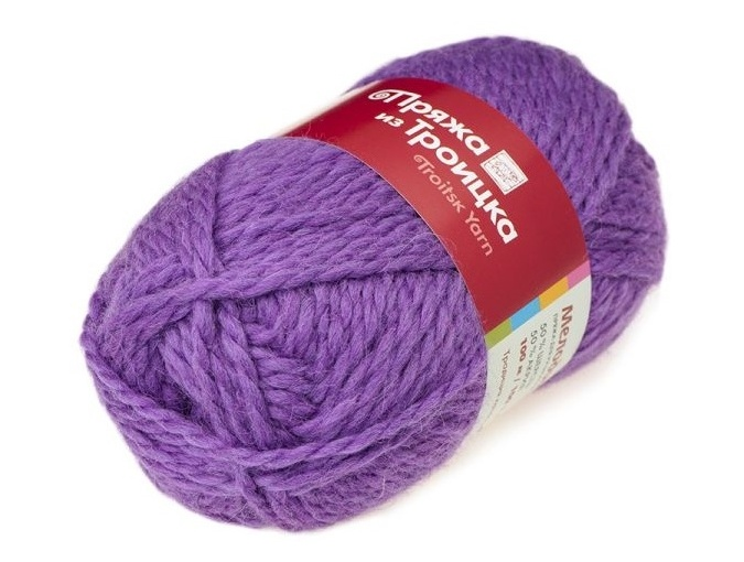Troitsk Wool Melody, 50% wool, 50% acrylic 10 Skein Value Pack, 1000g фото 40