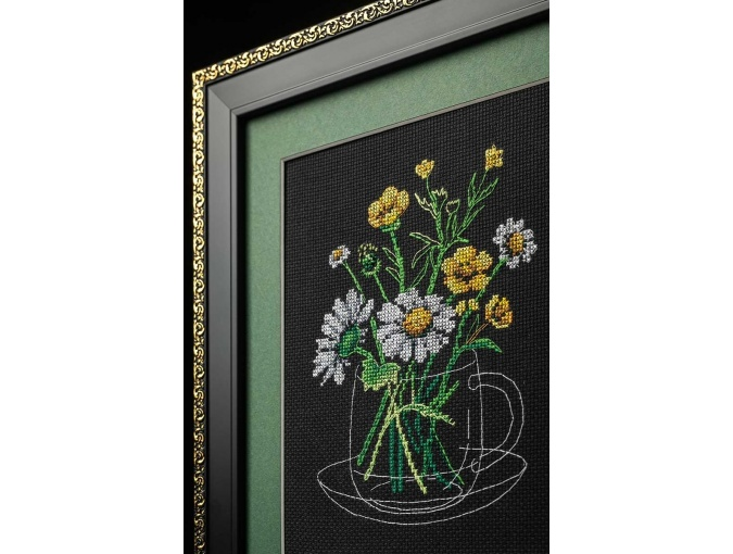Chamomile Tea Cross Stitch Kit фото 3