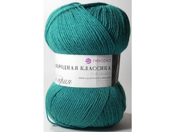 Pekhorka Folk Classics, 30% Wool, 70% Acrylic 5 Skein Value Pack, 500g фото 6