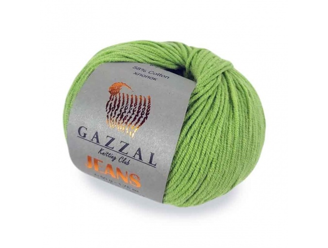 Gazzal Jeans, 58% Cotton, 42% Acrylic 10 Skein Value Pack, 500g фото 1