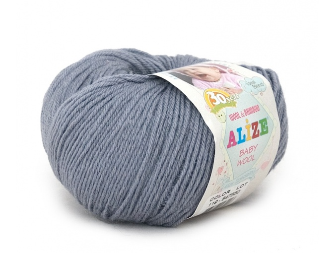 Alize Baby Wool, 40% wool, 20% bamboo, 40% acrylic 10 Skein Value Pack, 500g фото 17