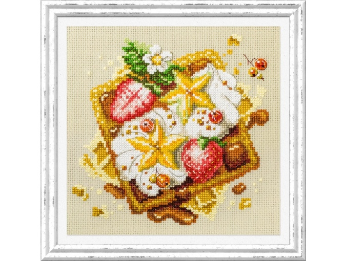 Viennese Waffles Cross Stitch Kit фото 2