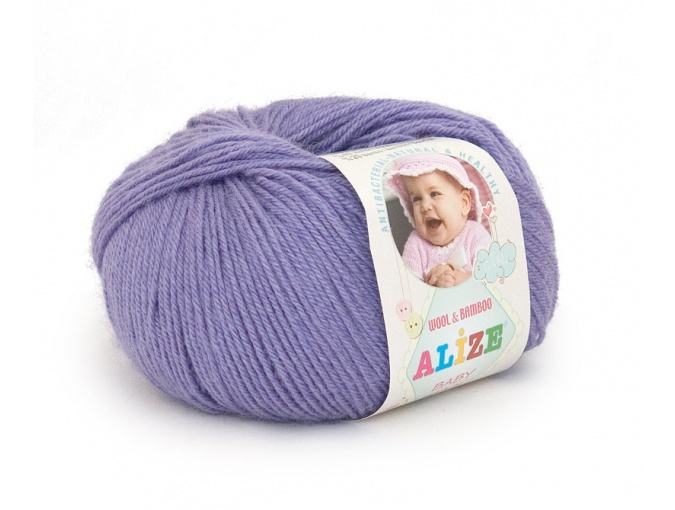 Alize Baby Wool, 40% wool, 20% bamboo, 40% acrylic 10 Skein Value Pack, 500g фото 7
