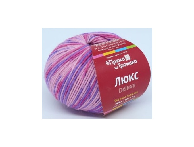 Troitsk Wool De Lux Print, 100% Merino Wool 10 Skein Value Pack, 500g фото 6