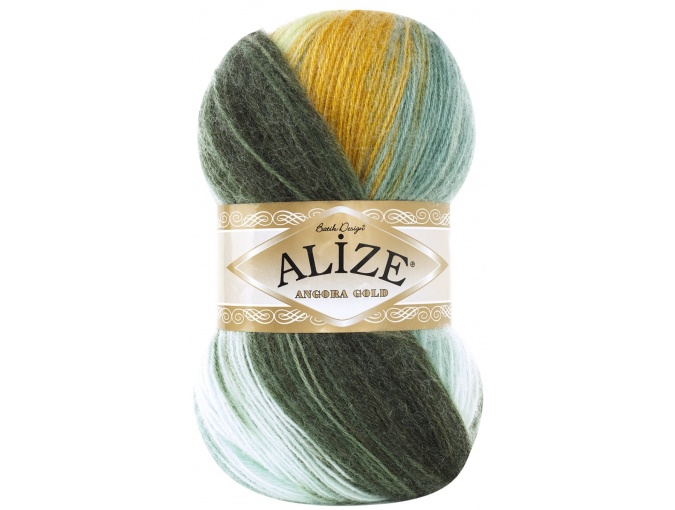 Alize Angora Gold Batik, 10% mohair, 10% wool, 80% acrylic 5 Skein Value Pack, 500g фото 67