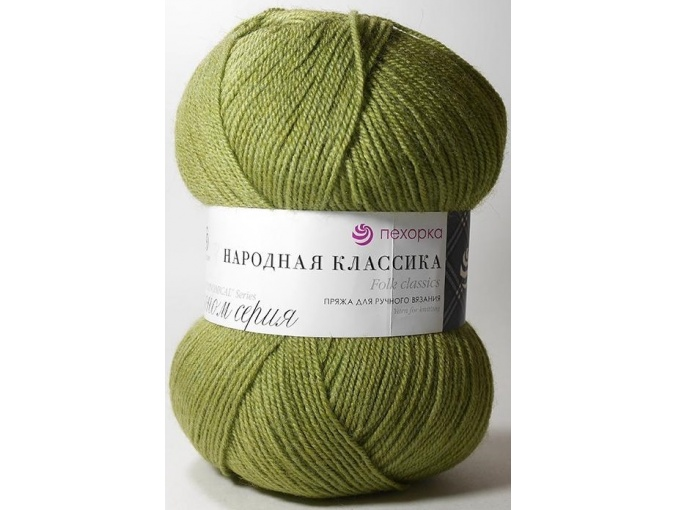 Pekhorka Folk Classics, 30% Wool, 70% Acrylic 5 Skein Value Pack, 500g фото 13
